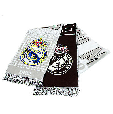 Bufanda Scarf Real Madrid -Oficial- Hala Madrid, Futbol Football, Sciarpa