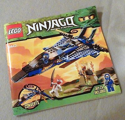 LEGO Ninjago Instruction Manual Booklet Only #9442 Jay's Storm Fighter