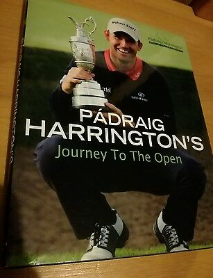 Padraig Harrington's Journey To The Open, First Edition