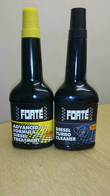 Forte Advanced Formula Diesel Treatment And Turbo Cleaner Pack - 400Ml