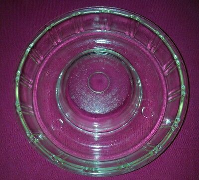 Vintage Queen Anne Glasbake Jello Mold/Bundt Dish