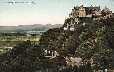 Stirling Castle from Ladies Rock