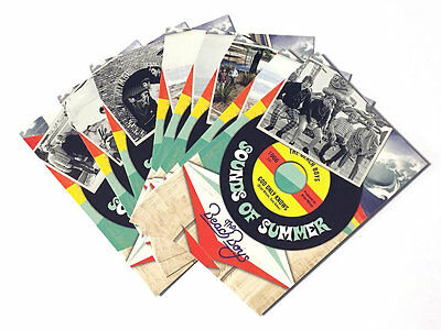 2013 Panini Beach Boys 50th Anniversary Chase Card Singles - Sounds of Summer