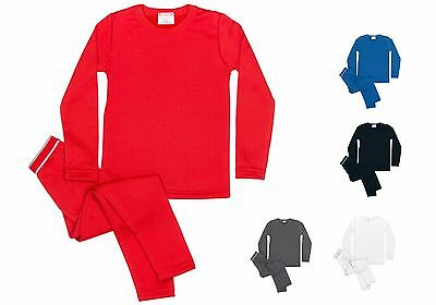 Rocky Boys Fleece Lined Thermal 2PC Top and Bottom Underwear Set Long Johns