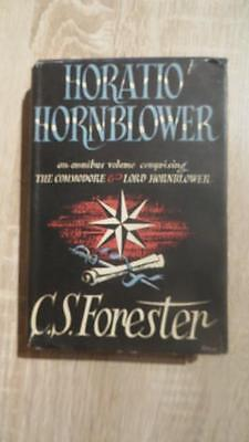 "1952 ""HORATIO HORNBLOWER"" by C S FORESTER - 1ST ED - NICE CLEAN COPY IN D/W"