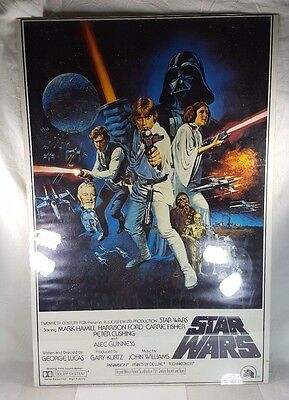 Star Wars Original Movie Poster Style C Portal Publications CHECK ALL PHOTOS