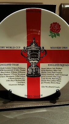 commemorative world cup plate 2003 rugby