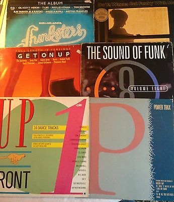 "Bundle Of 6 Vinyl LP's With Lots Of Great 12"" Dance Tracks From The 80's/90's."