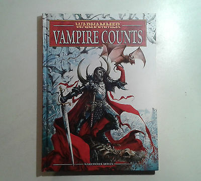 Warhammer Vampire Counts- 1x Army Book 8th Edition. OOP.
