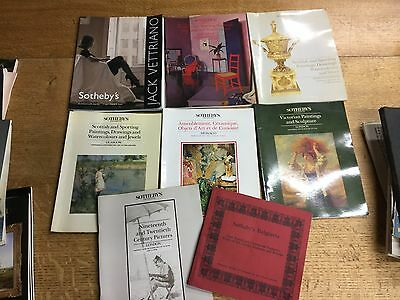 Collection Of 8 Old Sotheby's Auction Catalogues