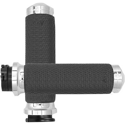 Avon Black Contour TBW Hand Grips for 08-19 Harley Touring FLHX ...