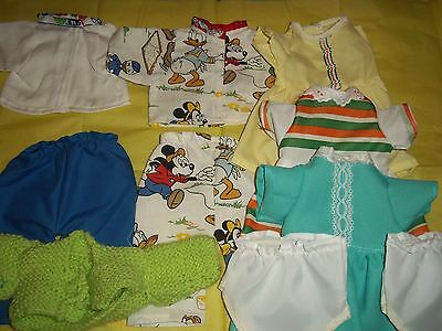 Dolls clothes to fit Tiny Tears (yellow set)