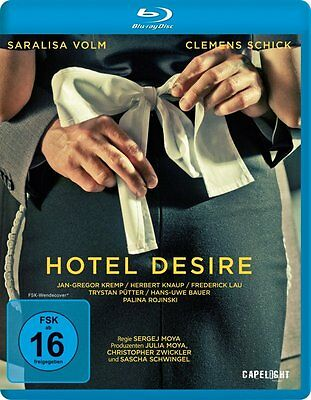 Hotel Desire  IMPORT Blu-Ray BRAND NEW Free Ship - USA Compatible