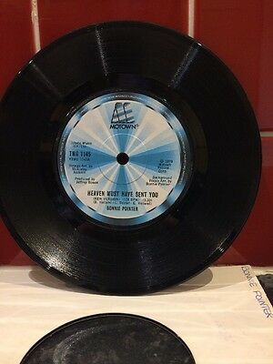 Bonnie Pointer 7ins Vinyl Motown Label Heaven Must Have Sent You & My Everything