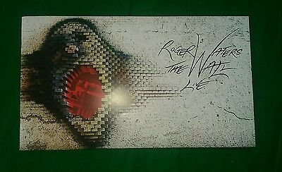 ROGER WATERS THE WALL LIVE 2012 Tour Program Mexico Usa & Canada PINK FLOYD