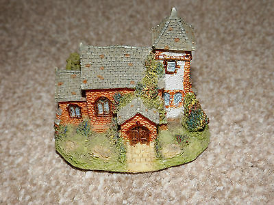 Tweasledown Village Series Ceramic Church With Tower Model