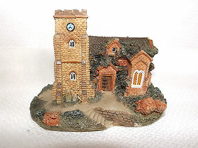 Collectable Unbranded Church With Clock Tower Model