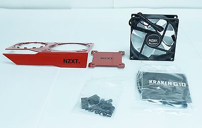 NZXT Kraken G10 RL-KRG10-R1 Red Bracket Liquid Cooler GPU Mounting Kit