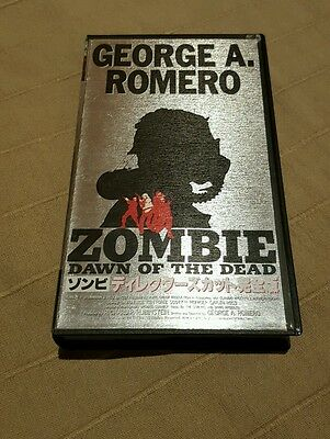 Zombie tape VHS Japan  dawn of the dead