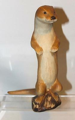 Purbeck Pottery Poole Wildlife Series Otter Figurine