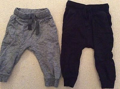 2 Pairs Next Joggers 12-18 Months