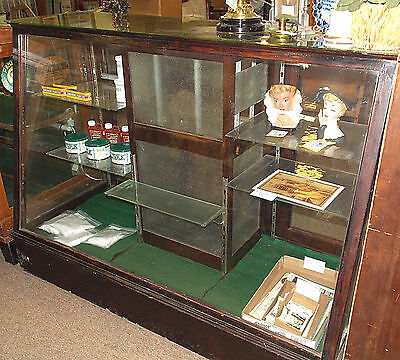 Late 1800's CANDY  STORE CHOCOLATE DISPLAY  CASE