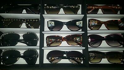 Affliction and Ed Hardy frame lot 51 pairs of glasses Optical Optician Optemetry