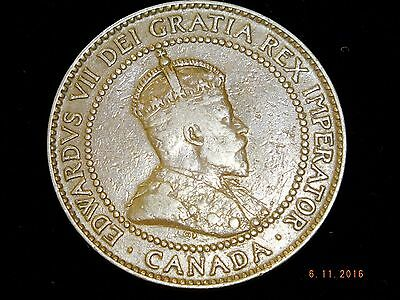 1910 - Canadian Large Cent - The Coin Pictured You Will Receive