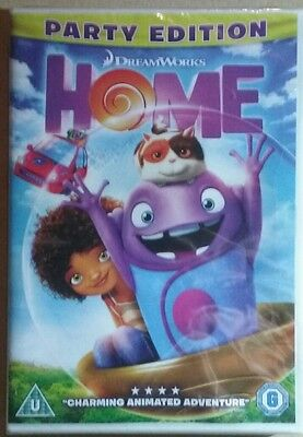 HOME - DVD ( Uk Genuine DVD ) Brand New And Sealed
