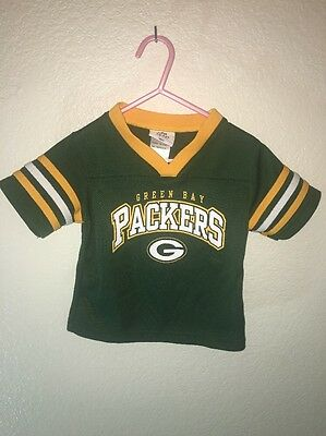 Green Bay Packers Child's Jersey Official Nfl Kids 2T