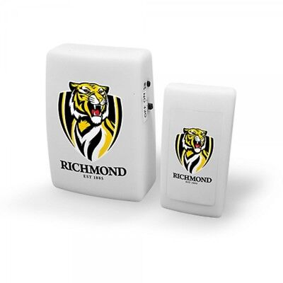 Richmond Tigers Official AFL Wireless Musical Door Bell FREE POST