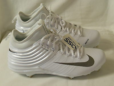 Nike Men's Trout 2 Pro Metal Baseball Cleats Black White 807127-100 Size 10.5