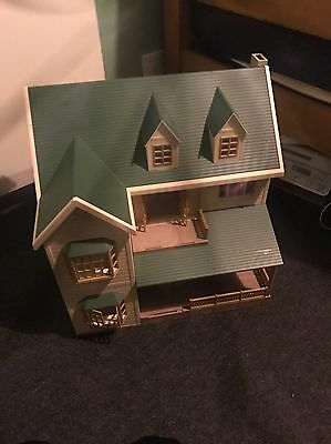sylvanian family house on the hill