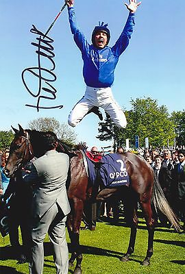FRANKIE DETTORI  FLYING DISMOUNT HAND SIGNED 7 x 5 INCH PHOTO AUTOGRAPH