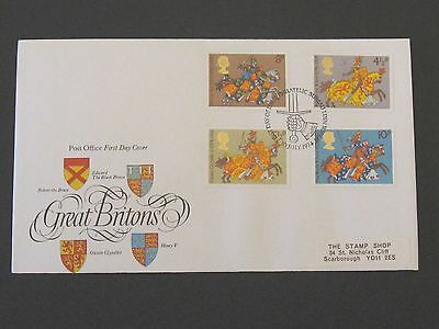 First Day Cover – Great Britons