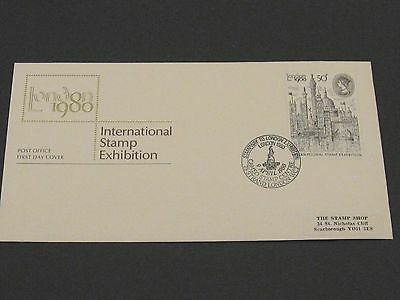 First Day Cover – International Stamp Exhibition - 1980