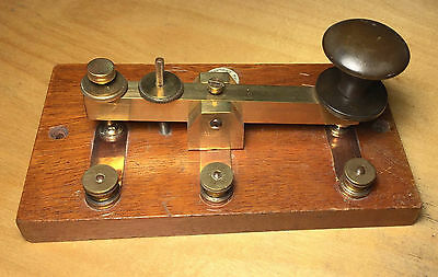Morse key by Phillip Harris of Birmigham, excellent condition