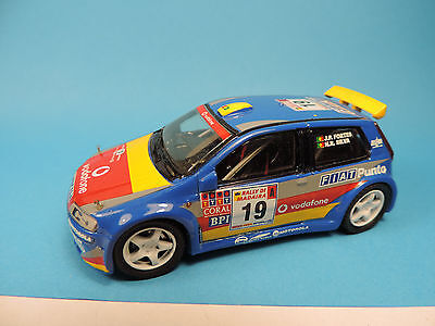 Top Model Collection 1:43 Fiat Punto Kit Car Rally - No Racing43
