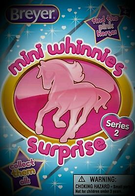 Breyer Mini Whinnies Series 2 Mystery Surprise Blind Bag 300181 Minnie Whinniy