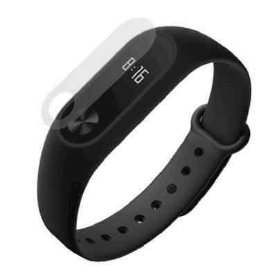 2PCS 0.1mm HD Protective Film for Xiaomi Miband 2  -  TRANSPARENT