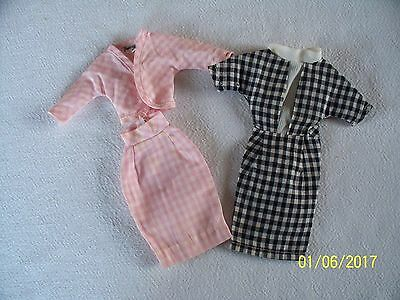 Vtg Executive Sweet & Check Mates Tressy Doll Outfit, American Character 1964