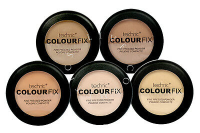 Technic Colour Fix Fine Pressed Powder - Choose Shade - | Rrp £11.49 |