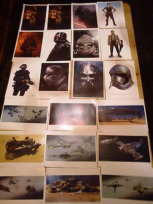 Movie Film Production Art / Props Collection Star Wars # Bond # Prometheus