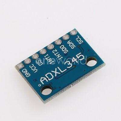 For Arduino Acceleration of Gravity Tilt Module Digital 3-Axis ADXL345 GY-291