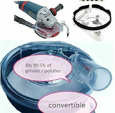 12 X 5inch Dust Shroud for Hand Held Angle Grinder sander Polisher-free-shipping