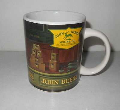 John Deere 10 oz Coffee Mug with Little Boy & Girl