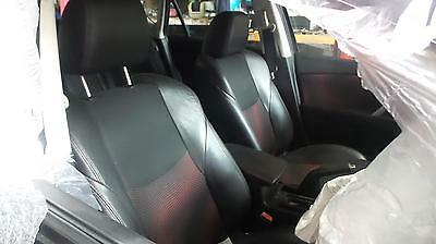 Mazda 3 Bl Mps Pair Of Two Front Leather Seats Bucket Type