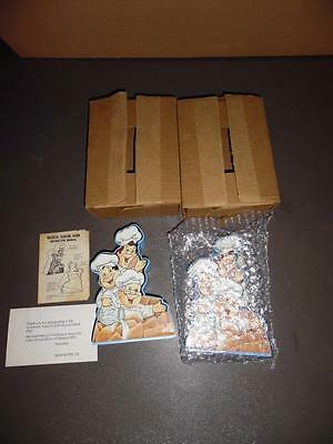 Two Vtg. 1988 General Mills Cereal Cinnamon Toast Crunch Musical Banks By Sutton