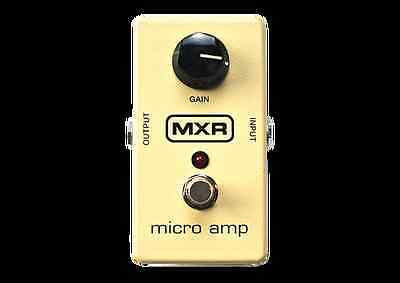 MXR M133 Micro Amp Gain Effect Pedal - Boost Your Signal For Lead Work