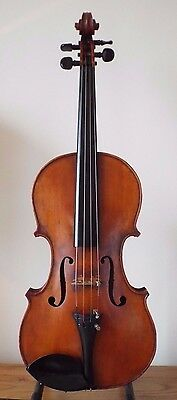 OFFER for RARE ANTIQUE c1887 A B BLODGETT of MASSACHUSETTS USA 4/4 VIOLIN + CASE